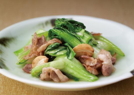 青菜 炒め 作り方
