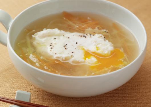キャベツ スープ 卵